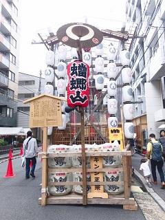 トリミングのワンちゃん達・祇園祭